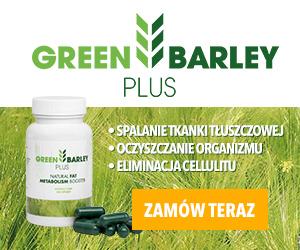 Green Barley Plus, wyciąg z zielonego jęczmienia na odchudzanie i oczyszczanie organizmu