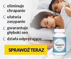 Snoran Plus skuteczny sposób na chrapanie oraz lepszy sen
