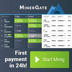 Kopalnia kryptowalut Minergate start2