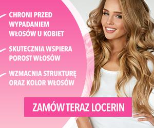 Locerin, wieloskładnikowym suplementem diety hamującym wypadanie włosów u kobiet 2
