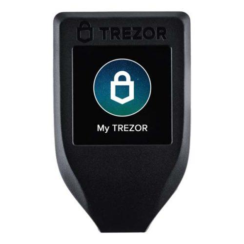 TREZOR Model T, portfel sprzętowy crypto