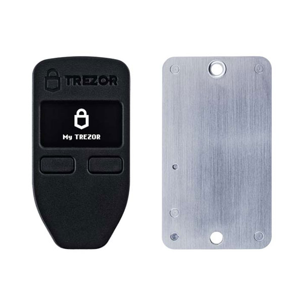 TREZOR ONE Black + Cryptosteel